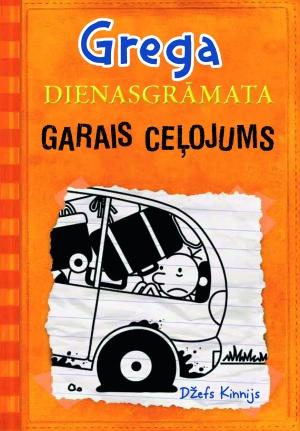 """Grega dienasgrāmata 9. grāmata  """"Garais ceļojums"""""""