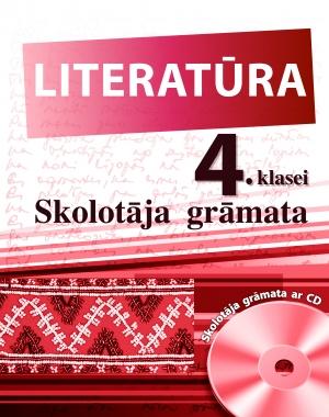 Literatūra 4. klasei  Mācību grāmata un CD