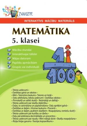 Matemātika 5. klasei. Interaktīvs mācību materiāls